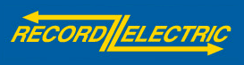 Logo record electric