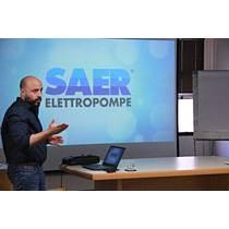 Capacitación técnico comercial a vendedores Record Electric - Saer Elettropompe
