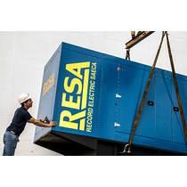 Record Electric entrega Generador a Hipermecado Luisito