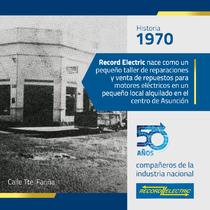 Historia Record Electric