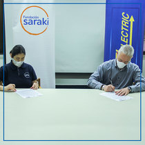 Record Electric firma alianza con la Fundación Saraki.