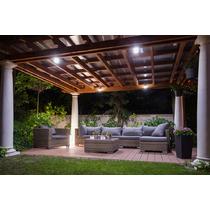 ¿Cómo iluminar con estilo terrazas y jardines?