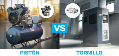 Medium compresor de piston versus compresor de tornillo