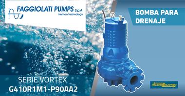 Medium faggiolatti pumps   serie vortex g410r1m1 p90aa2