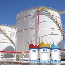 Imagen de Tintas para tanques de tratamientos de residuos