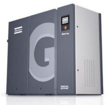 Medium atlas copco screw air compressor ga90 ga110 ga132 ga160